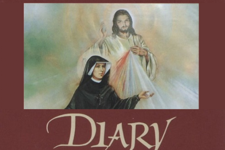 Diary of St. Faustina - Book from The Sisters of Our Lady of Mercy