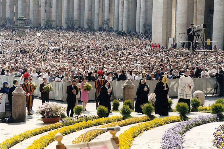 St. Faustina Canonization - The Sisters of Our Lady of Mercy