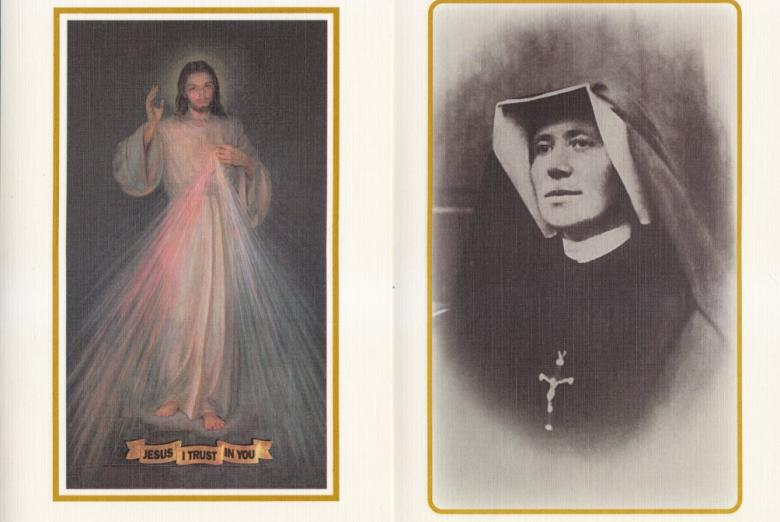 Prayer Enrollment Cards from The Sisters of Our Lady of Mercy